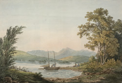The Lake of Windermere in Westmoreland